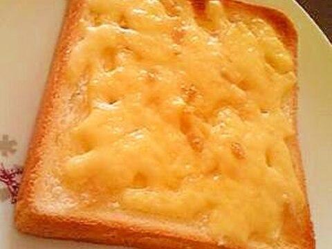 チーズシュガートースト☆朝食やおやつに