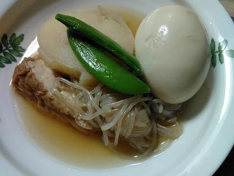 糸蒟蒻☆じゃがいも☆厚揚げの煮物