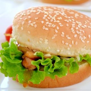 *てり焼きチキンバーガー*