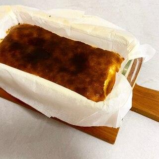 小麦不使用♪材料4つ♪簡単バスクチーズケーキ♪