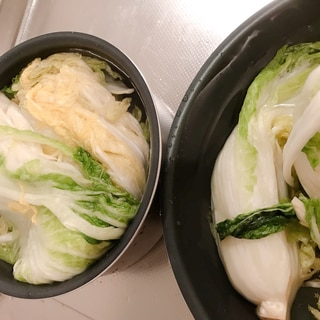【白菜処理-下準備編】キムチを漬けよう!!