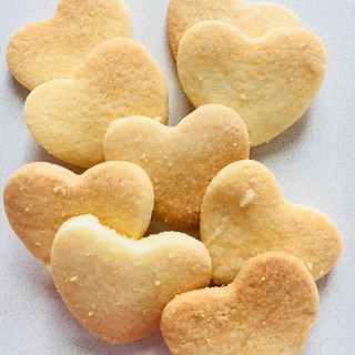 材料3つの簡単クッキー