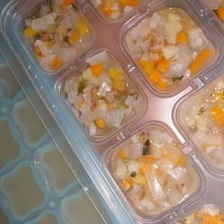 お米のかわりに食べる6種の野菜と昆布だしのストック
