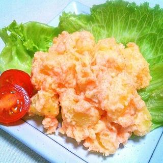 簡単1品♪明太マヨポテトサラダ♡