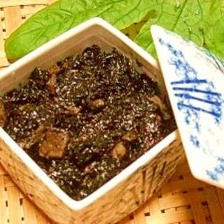 海苔と椎茸の佃煮