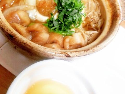 鱧のすき焼き