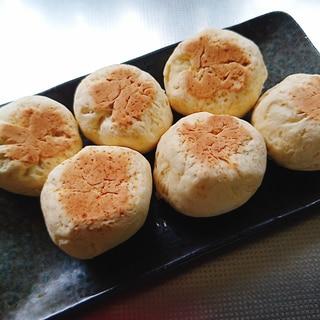 発酵なし!フライパンでスコーン風ずっしりパン