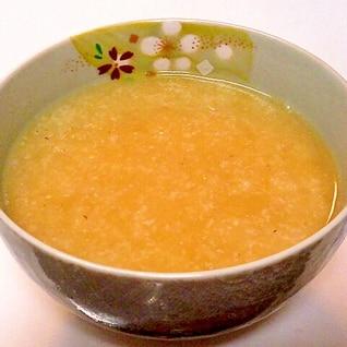 長いものすり流し味噌汁