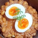 大豆とひき肉のヨーグルトカレー