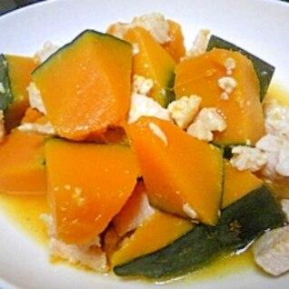 塩麹でかぼちゃの煮物