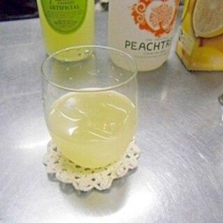 ピーチグレープフルーツカクテル