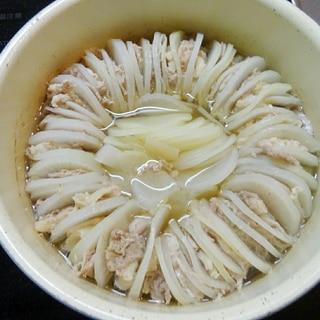 材料3つだけ!大根と豚のミルフィーユ鍋☆