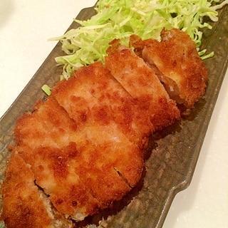 【ジューシー豚カツ】塩麹でやわらか!