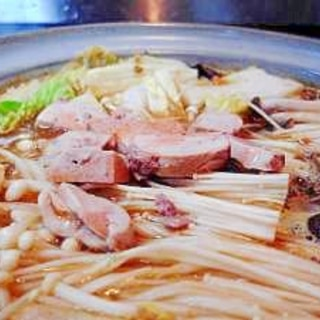 【本格派】濃厚どぶ汁風あんこう鍋