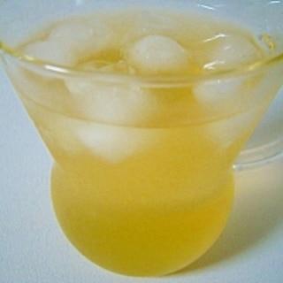 ポカリなアイス緑茶