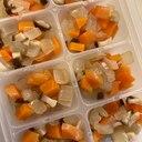 【離乳食完了期】人参と椎茸と玉ねぎのレンジ和風煮