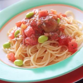 暑い季節にぴったり『トマトの冷製パスタ』