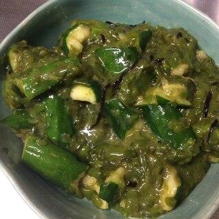 胡瓜とメカブのネバネバ免疫力アップ中華サラダ