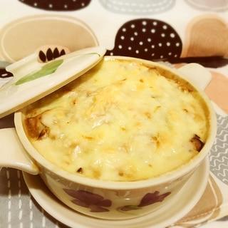 お粥アレンジ☆豆腐ソースのヘルシードリア
