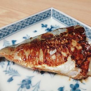 フライパンで☆さばの味噌漬け焼き