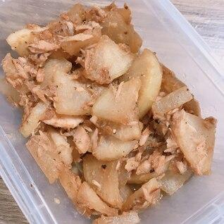 麺つゆで簡単!大根とツナの煮物