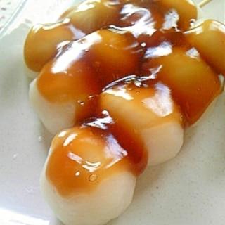 白玉粉で お月見串団子♪
