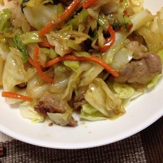 焼肉のタレで‼︎ホルモン野菜炒め(*^^*)☆