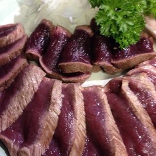 鹿肉のタタキ