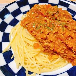 本格的!生トマトを使った簡単手作りミートソース☆