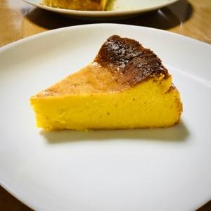 HMで超簡単☆濃厚かぼちゃプリンケーキ
