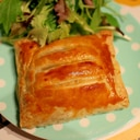 サーモンとポテトサラダのパイ包み
