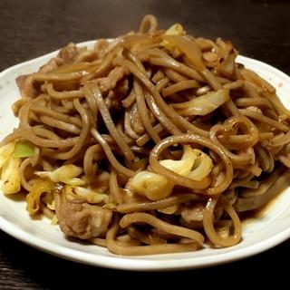 日本蕎麦で「そば焼き」