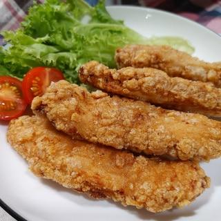 鶏胸肉De〜ザクザク唐揚(醬油味)