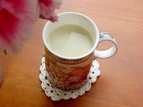 簡単!緑茶でチャイ♪