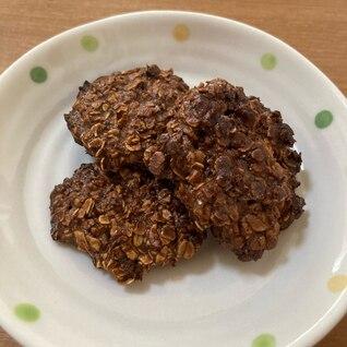 オートミール&ミロの簡単クッキー