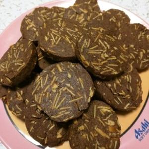 調整ココアで★サクサクアーモンドクッキー