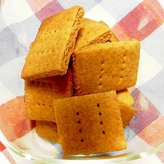 全粒粉ときなこのクッキー☆卵・バター不使用☆
