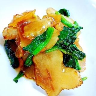 菊芋の炒め煮