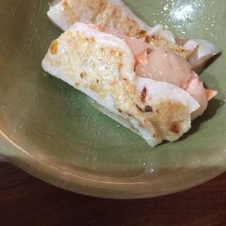 鮭のハラス!フライパンじっくり焼き!