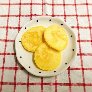 【離乳食】ホットケーキミックスのかぼちゃパンケーキ