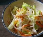 白菜かぶとりんごのサラダ
