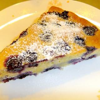 夏のブルーベリータルトケーキ☆