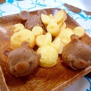 ホットケーキミックスでマドレーヌ★