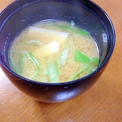 山芋のお味噌汁