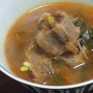 韓流テールスープ