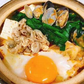 韓国料理!簡単 スンドゥブチゲ