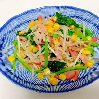 野菜たっぷりガリバタ醤油炒め++