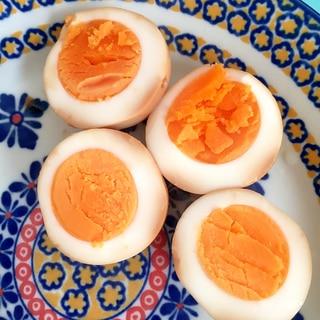 焼き肉のタレで煮卵☆