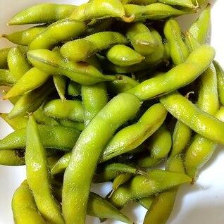 我が家の枝豆の茹で方☆柔らかです