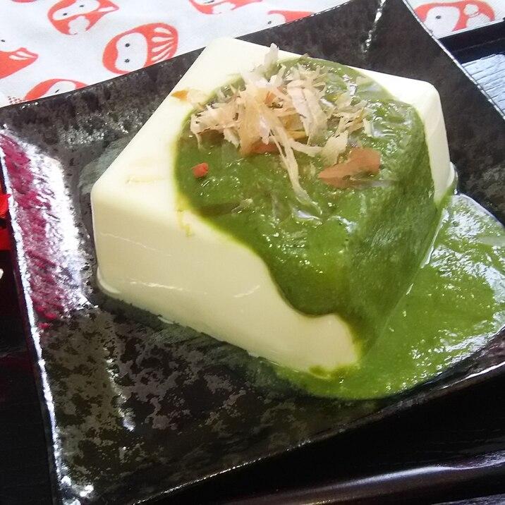 お豆腐にかけて美味しい☆抹茶味噌
